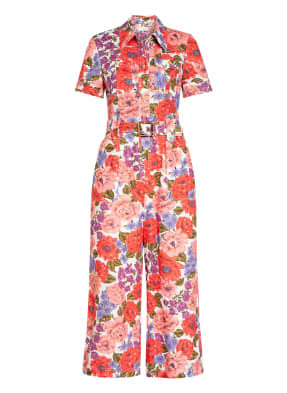 ZIMMERMANN Jumpsuit POPPY BELTED SAFARI aus Leinen