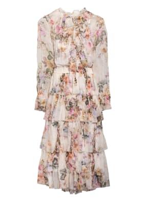 ZIMMERMANN Kleid BRIGHTON mit Volantbesatz