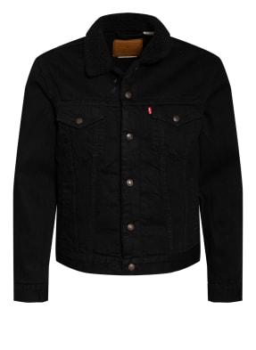 Levi's® Jeansjacke mit Kunstfellbesatz