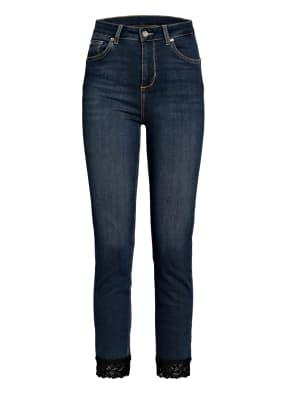 LIU JO Skinny Jeans IDEAL SUPER mit Spitzenbesatz
