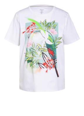 MARC CAIN T-Shirt mit Schmucksteinbesatz