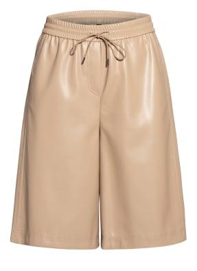 MARC CAIN Shorts in Lederoptik