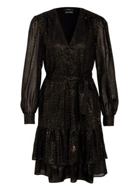 SET Kleid mit Volantbesatz
