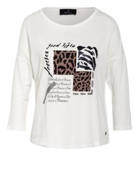 monari Shirt mit Schmucksteinbesatz