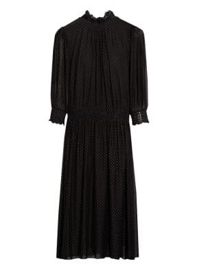 BOSS Kleid ENGELICA mit 3/4-Arm und Schmucksteinbesatz