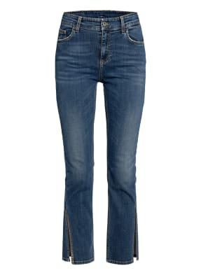 LIU JO 7/8-Jeans mit Schmucksteinbesatz