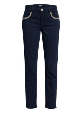 LIU JO Skinny Jeans IDEAL mit Schmucksteinbesatz