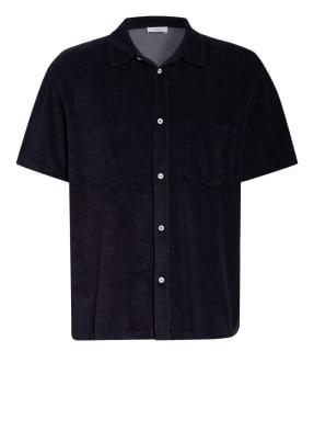 CLOSED Kurzarm-Hemd Comfort Fit aus Frottee