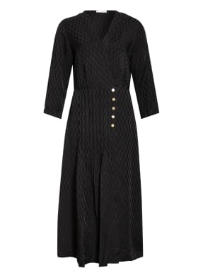 sandro Jacquard-Kleid mit 3/4-Arm