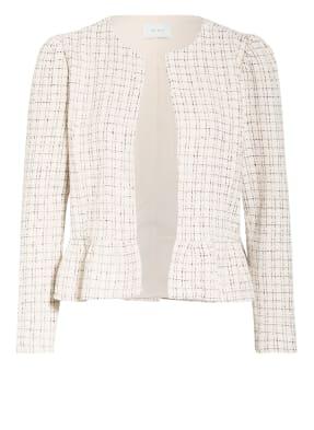 NEO NOIR Tweed-Jacke HARDY mit Rüschenbesatz