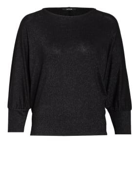 OPUS Shirt SITZA mit Glitzergarn und 3/4-Arm