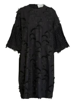 MUNTHE Kleid THUNDER mit Stickereien