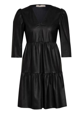 RINASCIMENTO Kleid in Lederoptik