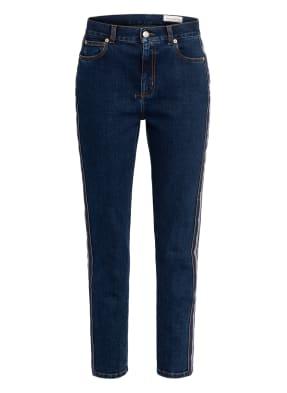 Alexander McQUEEN 7/8-Jeans mit Galonstreifen