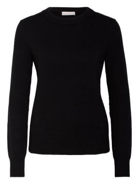 TORY BURCH Cashmere-Pullover mit Paillettenbesatz