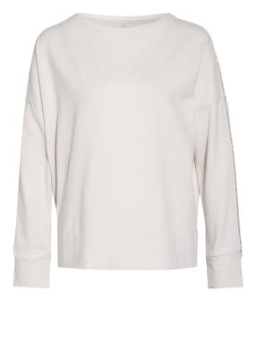 Juvia Sweatshirt mit Perlenbesatz