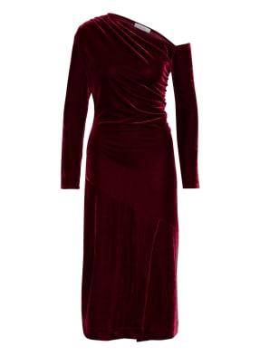 REISS One-Shoulder-Kleid BELLA aus Samt