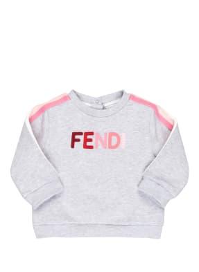FENDI Sweatshirt mit Galonstreifen
