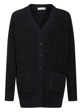BRUNELLO CUCINELLI Strickjacke mit Glitzergarn