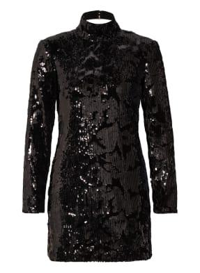 CLAUDIE PIERLOT Kleid RELIEF mit Paillettenbesatz