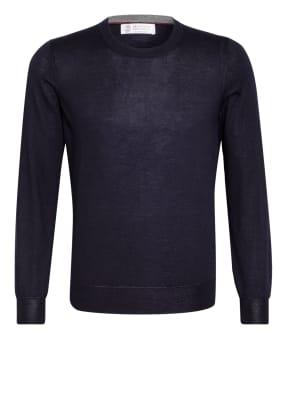 BRUNELLO CUCINELLI Cashmere-Pullover mit Seide
