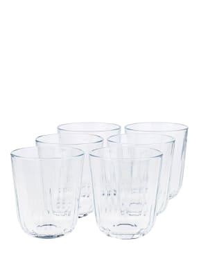 eva solo 6er-Set Trinkgläser