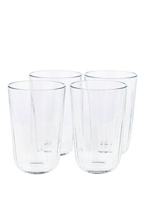 eva solo 4er-Set Trinkgläser