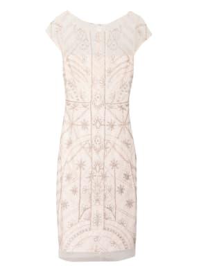 ADRIANNA PAPELL Kleid mit Pailletten- und Perlenbesatz
