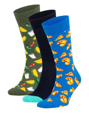 Happy Socks 3er-Pack Strümpfe mit Geschenkbox