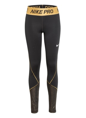 Nike Tights PRO WARM mit Glitzergarn