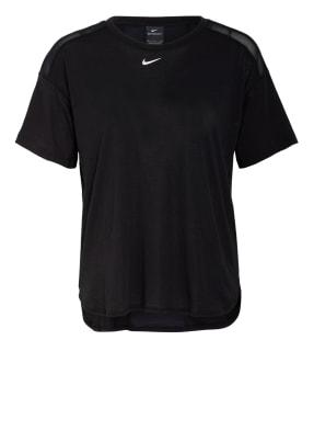 Nike T-Shirt PRO AEROADAPT mit Mesh-Einsätzen