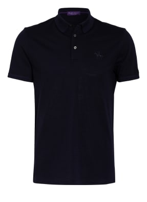 RALPH LAUREN PURPLE LABEL Piqué-Poloshirt Slim Fit