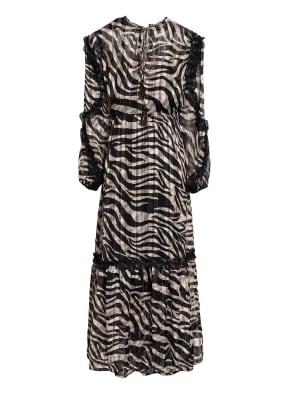 summum woman Kleid mit Spitzenbesatz