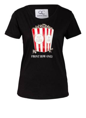QUANTUM COURAGE T-Shirt POPCORN mit Glitzergarn