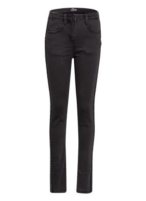 s.Oliver RED Skinny Jeans mit Galonstreifen