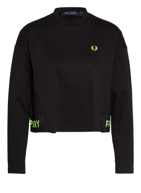 FRED PERRY Cropped-Sweatshirt