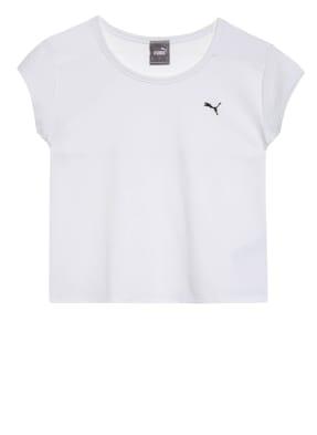 PUMA T-Shirt UNTAMED mit Mesh-Einsatz