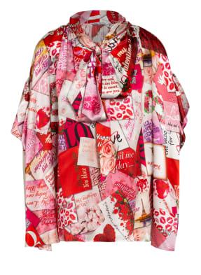 BALENCIAGA Oversized-Blusenshirt aus Seide