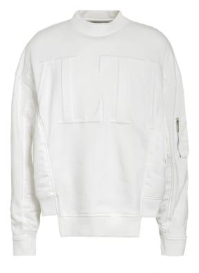 VALENTINO Sweatshirt im Materialmix