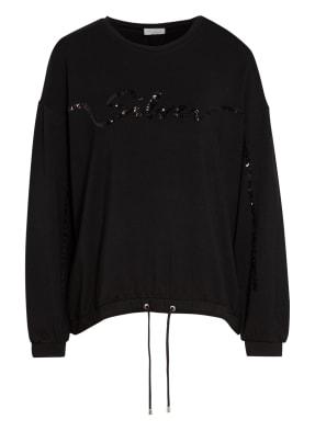 SPORTALM Sweatshirt mit Paillettenbesatz