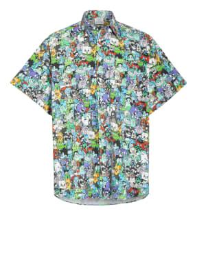 VETEMENTS Oversized-Hemd aus Flanell