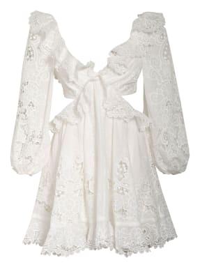 ZIMMERMANN Kleid LULU mit Lochspitze