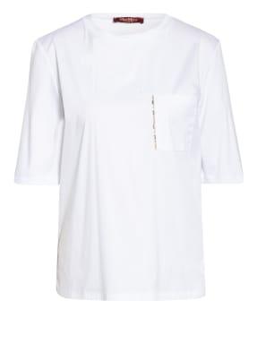 MaxMara STUDIO T-Shirt mit Schmucksteinbesatz