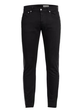 Alexander McQUEEN Jeans Extra Slim Fit mit Galonstreifen