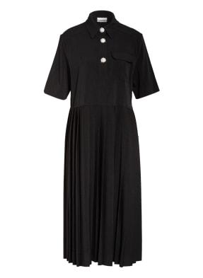 GANNI Kleid mit Schmucksteinbesatz