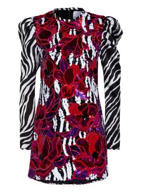 HALPERN Kleid mit Paillettenbesatz
