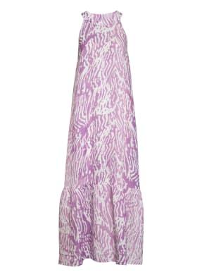 120%lino Kleid mit Leinen