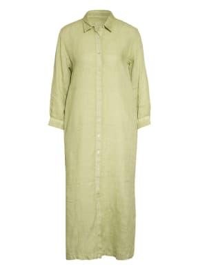 120%lino Hemdblusenkleid aus Leinen