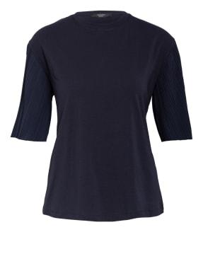 WEEKEND MaxMara T-Shirt im Materialmix