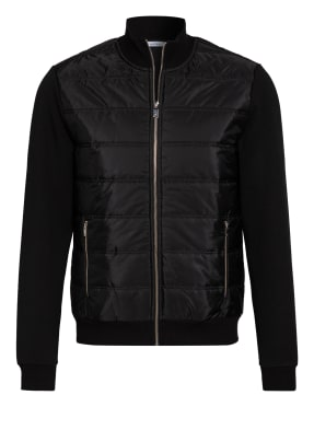 REISS Sweatjacke FREDDIE im Materialmix